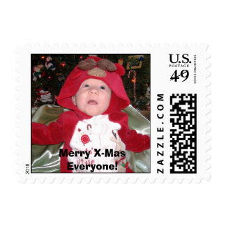 Luke November 2006-49, Merry X-Mas Everyone! Postage Stamp