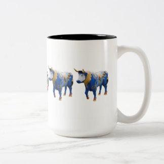 """Luke the Celtic Ox"" 15 oz mug"