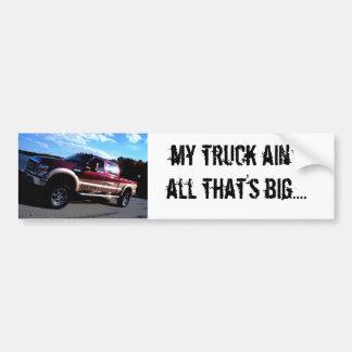 Luke's BIG TRUCK Bumper Sticker