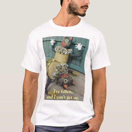 Luke's Fallen Can't Get Up, I've fallen, and I ... T-Shirt