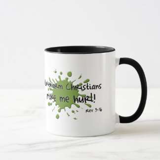 Lukewarm Christians Coffee Mug