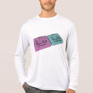 Lula as Lutetium Lu and Lanthanum  La T-shirts