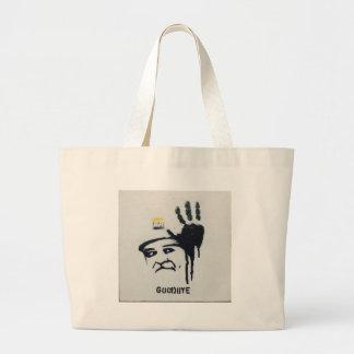 Lula da Silva Brazil Large Tote Bag
