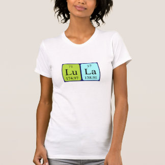 Lula periodic table name shirt