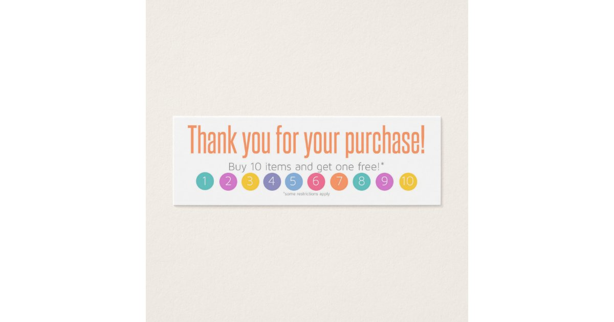 Thank You Business Cards & Templates | Zazzle