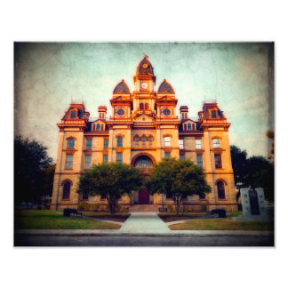 Luling Courthouse in Rural Texas Photo Art