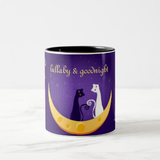 Lullaby and Goodnight Two-Tone Coffee Mug