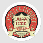 Lullaby League Classic Round Sticker