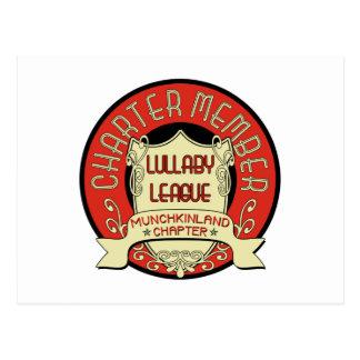 Lullaby League Postcard