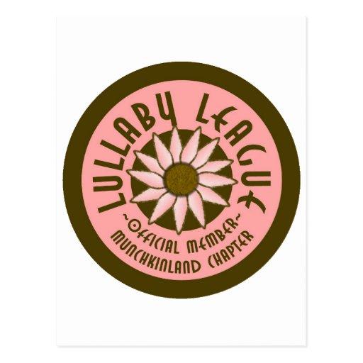 Lullaby League Postcards