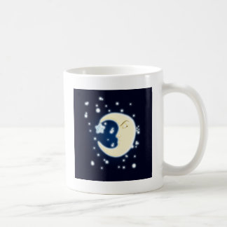Lullaby Moon Dark Coffee Mug