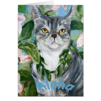 Lulu Aloha Kitty Card