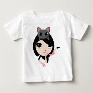 Lulu and Noodle the Cat Infant T-shirt