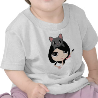 Lulu and Noodle the Cat Tee Shirt