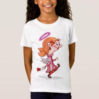 LULU ANGEL CUTE CARTOON Babydoll T-Shirt