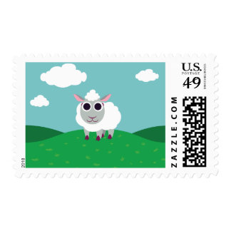 Lulu las ovejas timbres postales