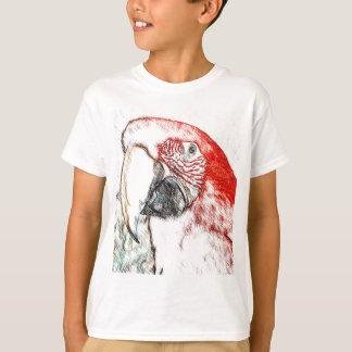 Lulu Macaw Head Sketch T-Shirt