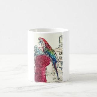 Lulu Macaw On The Sofa Mug