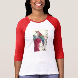 Lulu Macaw On The Sofa T-Shirt