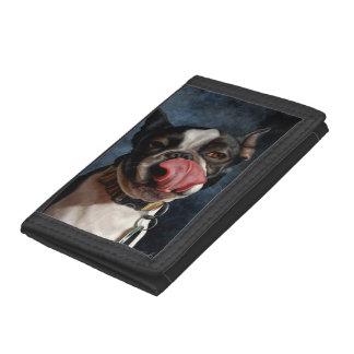 Lulu the Boston Terrier Tri-fold Wallet