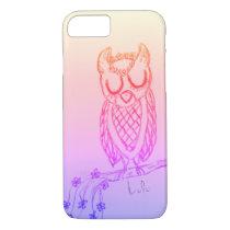 Lulu the Owl iPhone 7 Case
