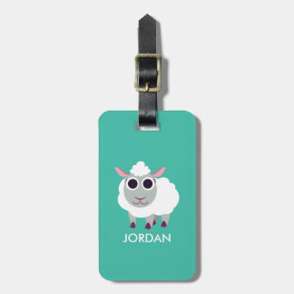 Lulu the Sheep Bag Tags