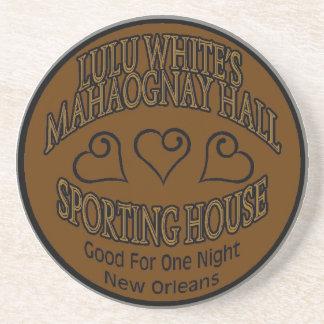 Lulu White's Mahogany Hall Tokin Drink Coaster
