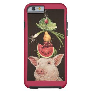 Lulu y su caso duro del iPhone 6 del almuerzo Funda Resistente iPhone 6