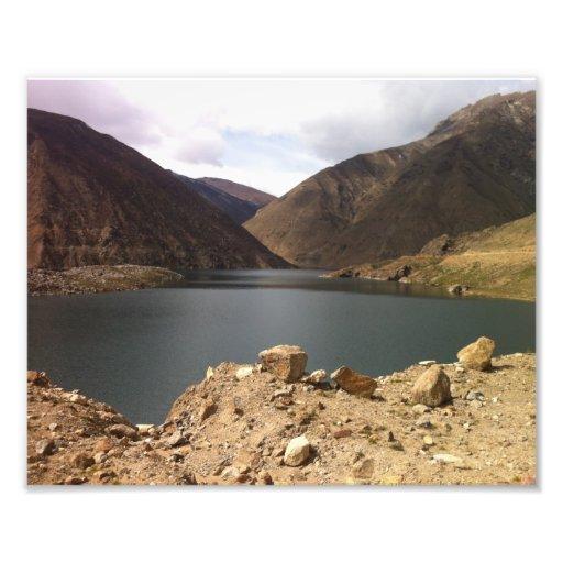 Lulusar lake photo print