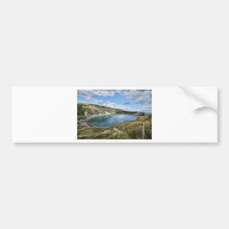 Lulworth Cove Bumper Sticker