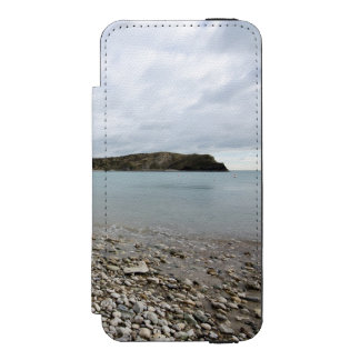 Lulworth Cove, Dorset Wallet Case For iPhone SE/5/5s