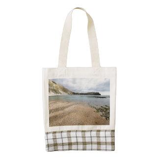 Lulworth Cove, Dorset Zazzle HEART Tote Bag