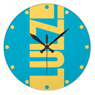 LULZ LARGE CLOCK