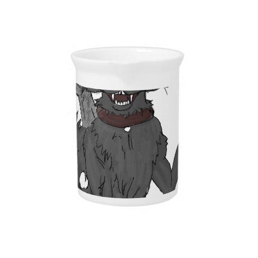 Lulz Mascot Beverage Pitcher