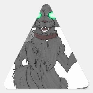 Lulz Mascot Triangle Sticker