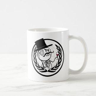 LulzSec Anonymous Logo Coffee Mug