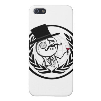 LulzSec Anonymous Logo Cover For iPhone SE/5/5s