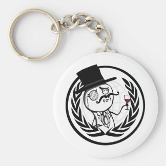 LulzSec Anonymous Logo Key Chains