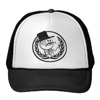 LulzSec Anonymous Logo Trucker Hat
