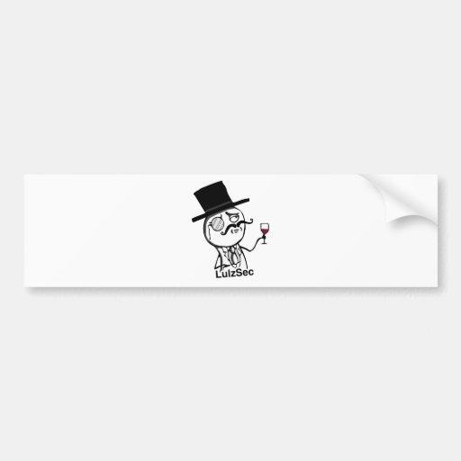 LulzSec Bumper Sticker