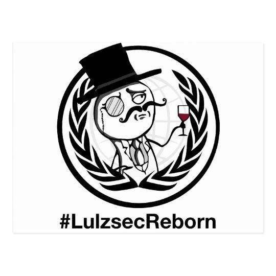 Lulzsec Reborn with Hashtag Postcard