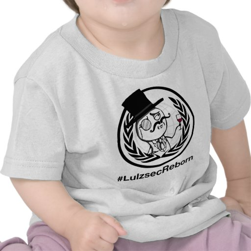 Lulzsec Reborn with Hashtag Tshirts