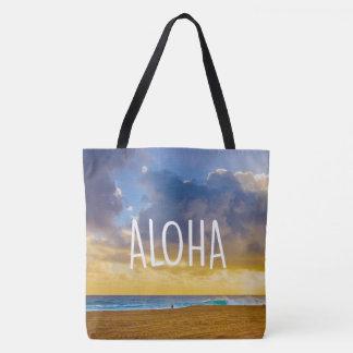 Lumahai Beach, Kauai, Aloha Hawaiian Beach Bag