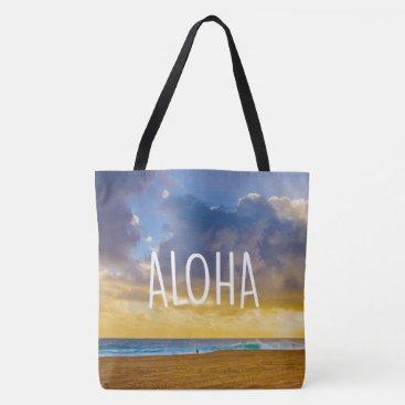 Beach Themed Lumahai Beach, Kauai, Aloha Hawaiian Beach Bag