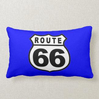 ¡~ lumbar de las almohadas de la ruta 66 de cojín lumbar