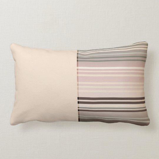 Lumbar horizontal calmante de la almohada de tiro cojín lumbar