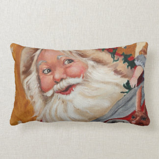 Lumbar Pillow - Jolly Santa