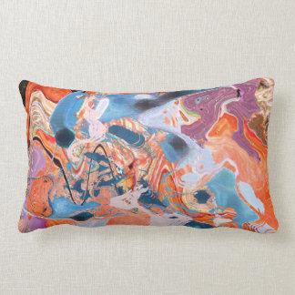 Lumbar pillow:KUNG Fu Kode by Konform Pillows