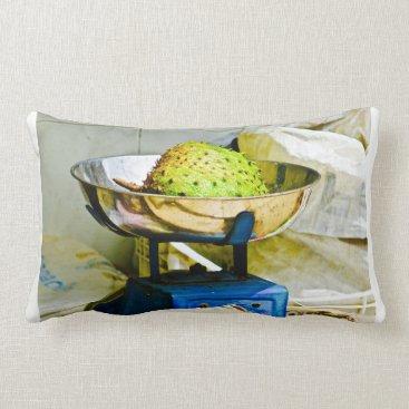 Beach Themed Lumbar pillow - Soursop fruit - Caribbean fruit