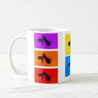 Lumbar Vertebrae Funk Coffee Mug. Fun Coffee Cup! mug